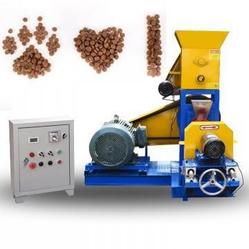 Stainless Steel Small Output Floating Fish Feed Pellet Farming Equipment/Dog Food Making Machine with Ce