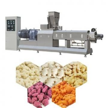 Continuous Fully Automatic Breakfast Cereal Food Puffing Machine to Make Corn Flakes Chips