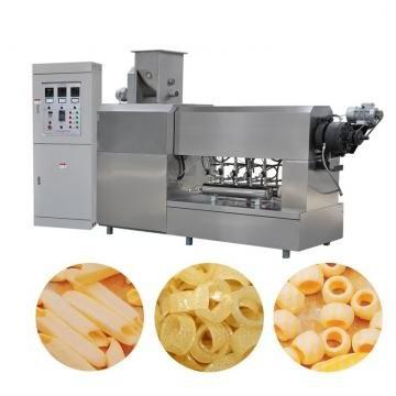 Small Cereals Food Maize Flakes Puffing Food Extruder Machine