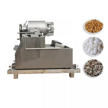 Automatic Puffing Snacks Breakfast Cereals Maize Corn Flakes Making Extrusion Machine