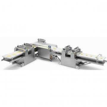 Twin Screw Extruder Fried Corn Doritos Chips Snack Production Line