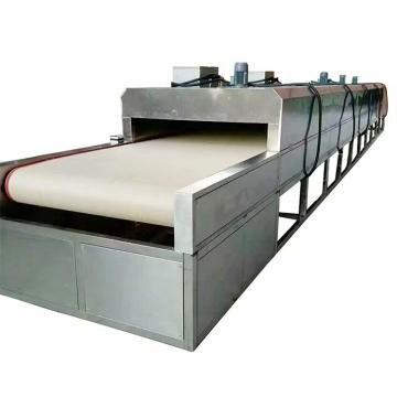 Bottle Dryer Made with Drying Tunnel with Heating Tube Inside up on The Conveyor
